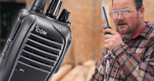 Icom F3210D / F4210D Entry Level IDAS™ Trunking Portables VHF/UHF